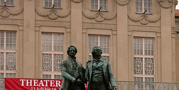 Goethe und Schiller