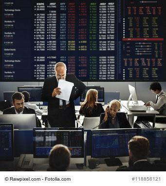 Broker an der Börse
