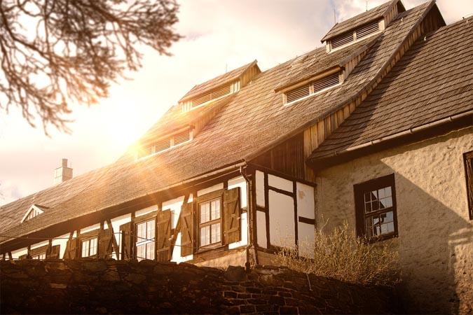 Immobilien in Weimar vor Wind und Wetter schützen
