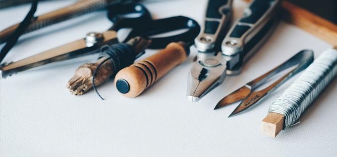 Werkzeuge für einen Werkzeugkoffer oder Werkzeugkasten